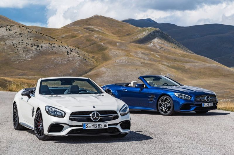 Lineage: Mercedes-Benz SL