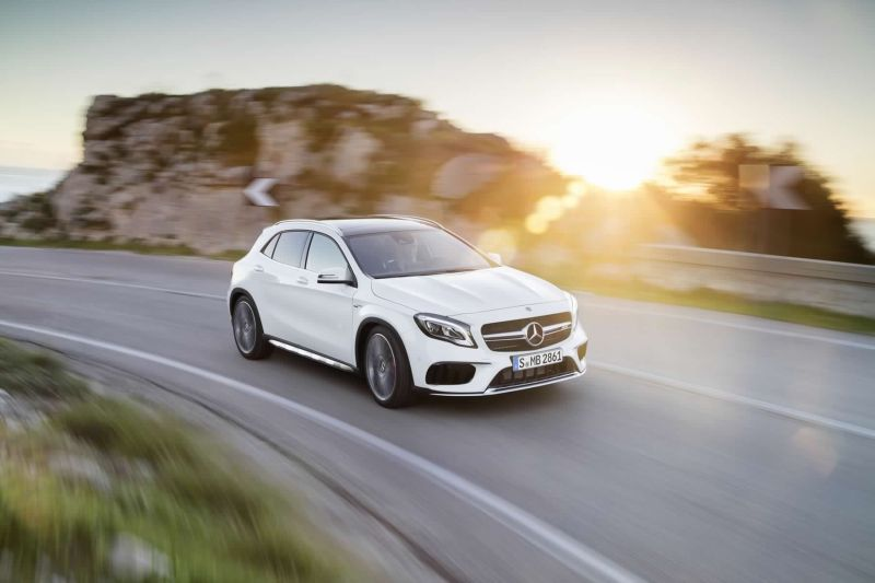 Launched: Mercedes-Benz GLA facelift