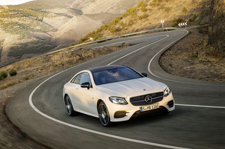 Mercedes-Benz E220d Coupé vs. many others
