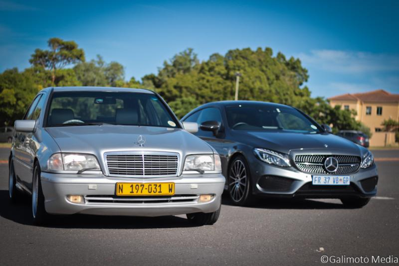 C43 AMG: old vs new