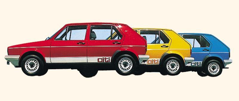 Lineage: Volkswagen Citi Golf