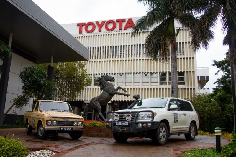 TOYOTA'S 5 CONTINENTS DRIVE PROJECT A GREAT SUCCESS IN AFRICA