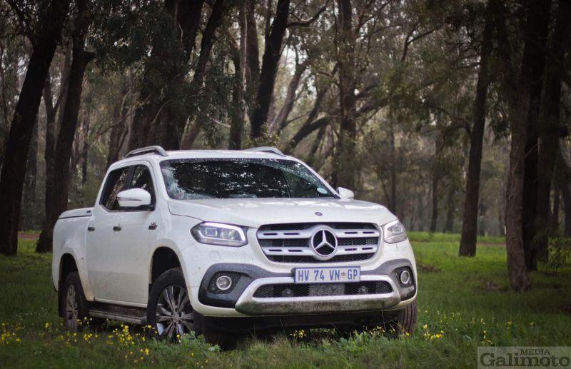 Padtoets: 2019 Mercedes-Benz X350d 4Matic